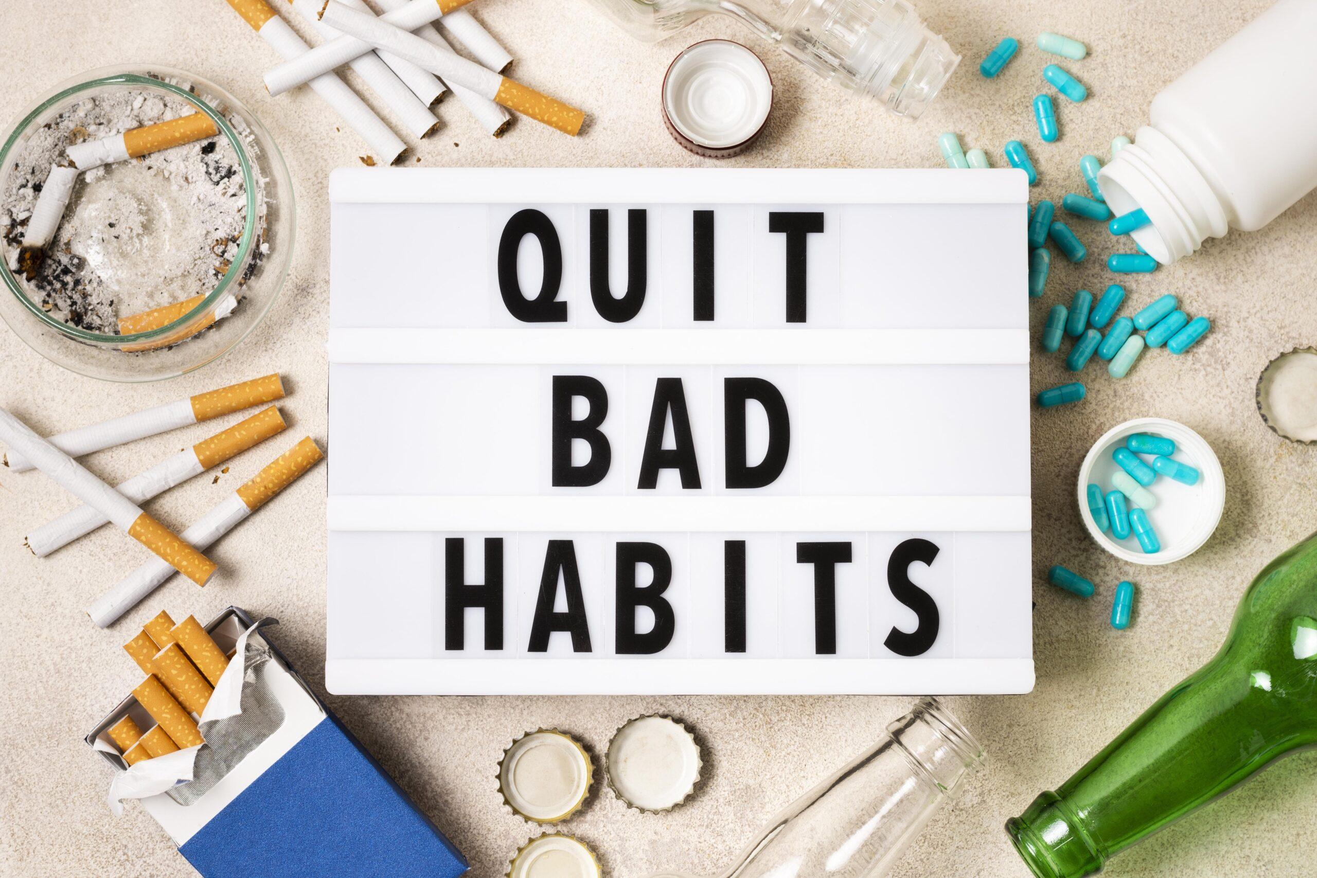 quit bad habits